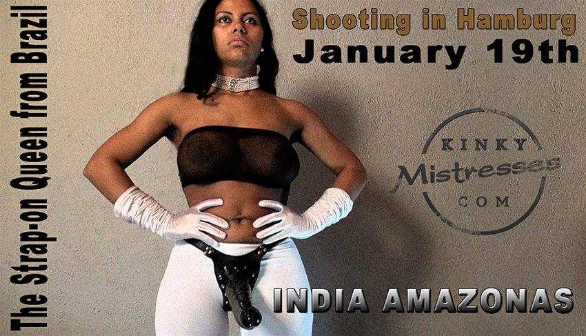 India Amazonas - Shooting in Hamburg