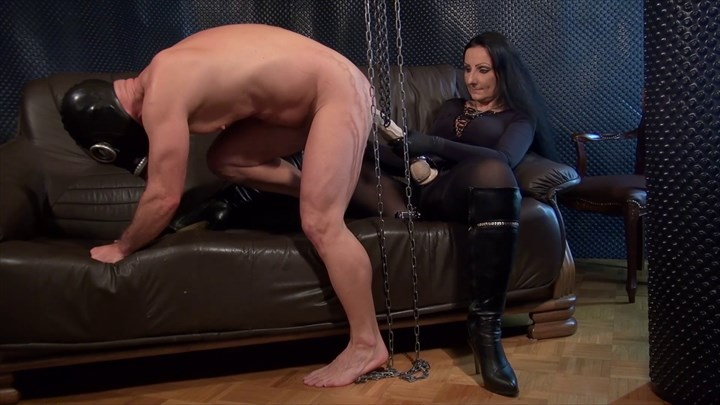 Ride The Huge Strap On Penetration  Dildo Domination/FemDom Ass Play Anal Stretching