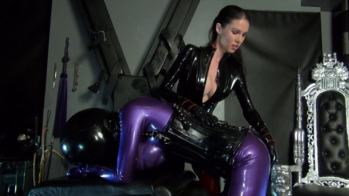 Mistress Susi´s Anal Rubberdoll Ass Play Latex Rubber Domination/FemDom
