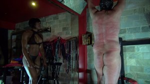 Mistress Kiana - CP in the Shadow Corporal Punishment Ebony Domination Whipping Caning
