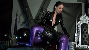 Mistress Susi´s Anal Rubberdol Ass Play Latex Rubber Domination/FemDom