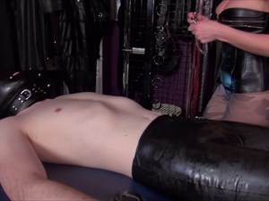 Mistress Anita Divina Plays with your Nipples