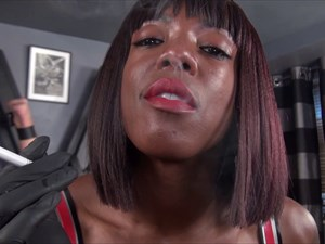 Kiana - The smoking Strap-on Lady