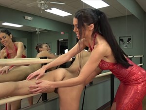 The Slave Girl in the Ballet Room