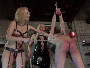 Mistress Marta - Caned by 2 Ladies