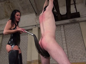 Mistress Anita Divina Whips Your Ass