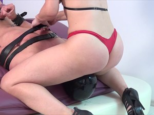 Face-Sitting & Nipple-Cock Punishment