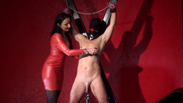 Punished At The Cross Sensual Teasing Sensual Punishment Nipple Teasing Bondage/Restraints