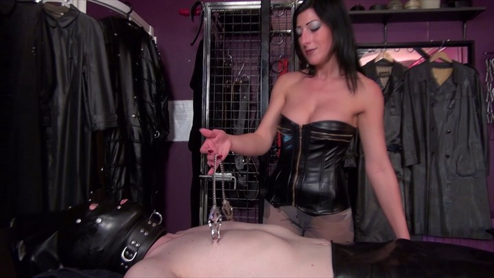 Mistress Anita Divina Plays with your Nipples Nipple Teasing Nipple Torture