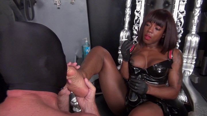 The Bisexual Slave and the Sperm Licker Dildo Sucking Foot Worship Forced bi Nipple Teasing