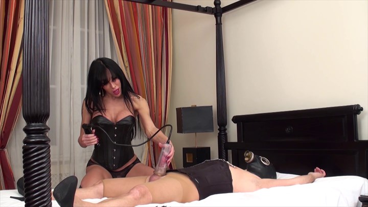 The Transsexual Mistress Transsexuals Fetish Forced Orgasm Handjobs