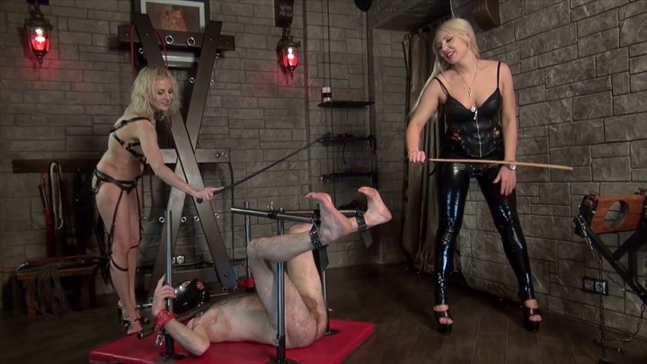CBT With 2 Ladies 2-on-1 Action CBT