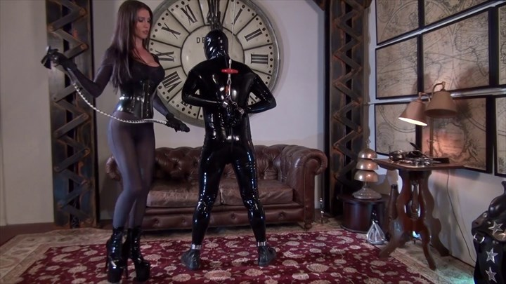 Mistress Susi Puts Her Whip Up Your Ass Bondage/Restraints Domination/FemDom Ass Play