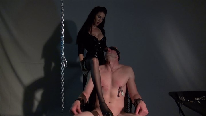 The interrogation of the Sectret Agent CBT Nipple Torture