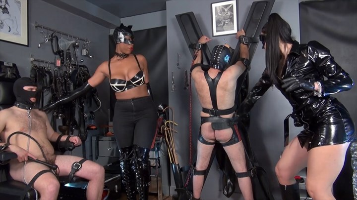 Use By Mistress Gaia & Belladona Night Ebony Domination