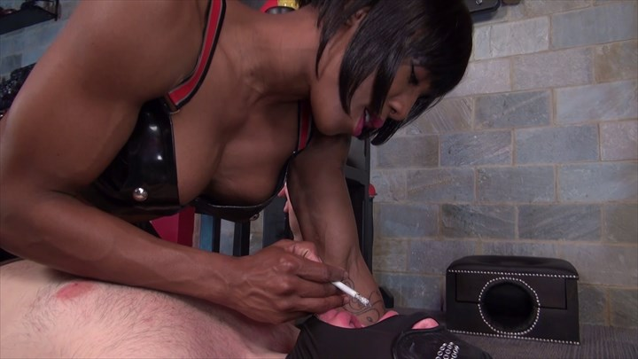 Mistress Kiana - My Human Ashtray Ebony Domination Face-Sitting/Smothering