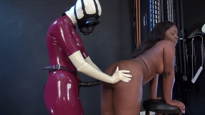 The Fucked Ebony Slave Girl Latex