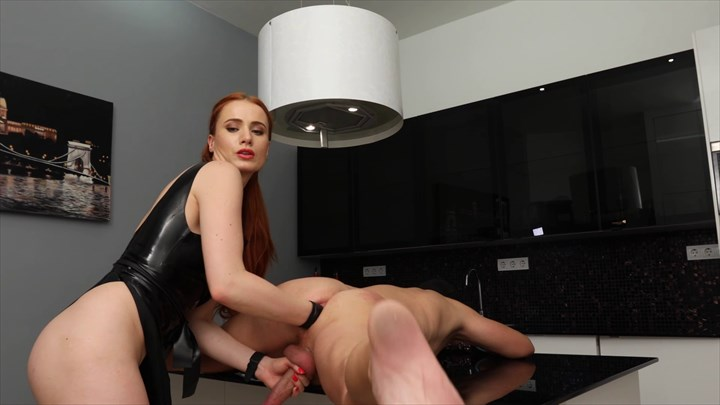 Fisted In The Kitchen Anal Stretching Fisting