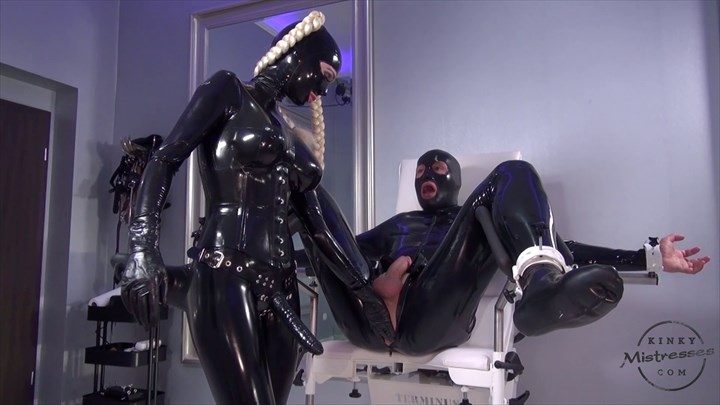 New Video Ass Play CBT Rubber Strap On