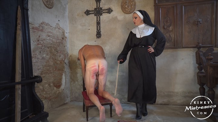 Mistress Lunas Caning Slave Caning Corporal Punishment