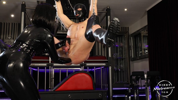 Fisted And Milked By Miss Patricia Latex