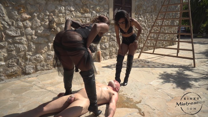 Champagne From Mistress Kiana Ebony Domination