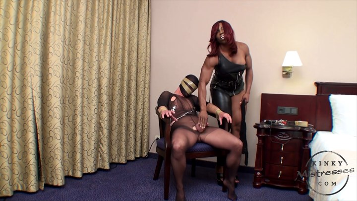 Nipple Punishment With Mistress Treasure Ebony Domination