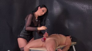Fun With Sounds and Nipple Clamps Sounds Nipple Torture Domination/FemDom Nipple Teasing CBT