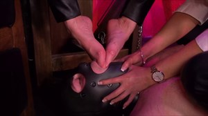 Punished With Feet High Heels Trampling Foot Worship Feet Face-Sitting/Smothering Humiliation