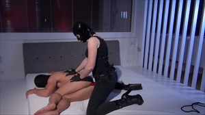 Fucked By The Young Domina Strap On