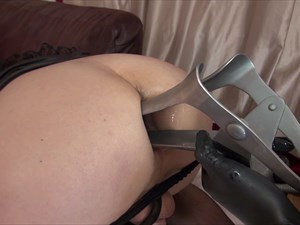 Ava Looks Up Your Ass With a Speculum