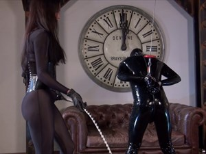 Mistress Susi Puts Her Whip Up Your Ass