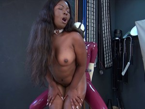 The Fucked Ebony Slave Girl