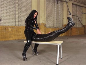 Used In Clingfilm By Mistress Ezada