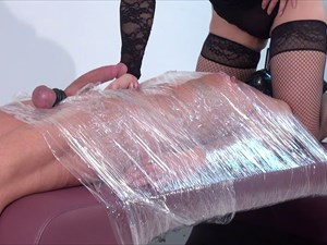 Punished In Clingfilm - Part 2