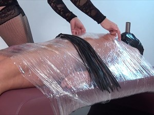 Punished In Clingfilm - Part 1