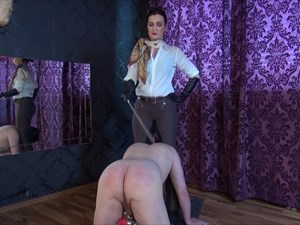 Hard Caned By Lady Victoria Valente