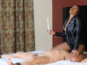 Jetset Jasmine - Punished With Hot Wax In The Hotel