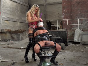 Punished In The Old Factory By Calea Toxic