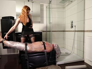 Electro Torment In The Bathroom
